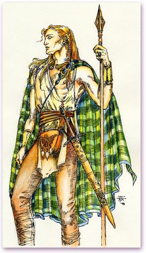 irish word for warrior