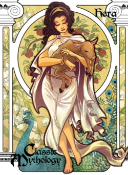 Goddess Hera Journeying To The Goddess