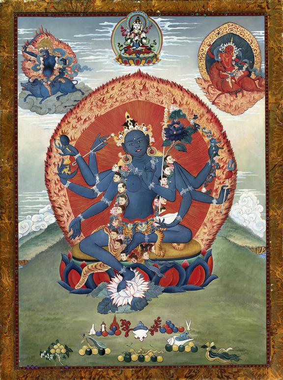 goddess tara journeying to the goddess