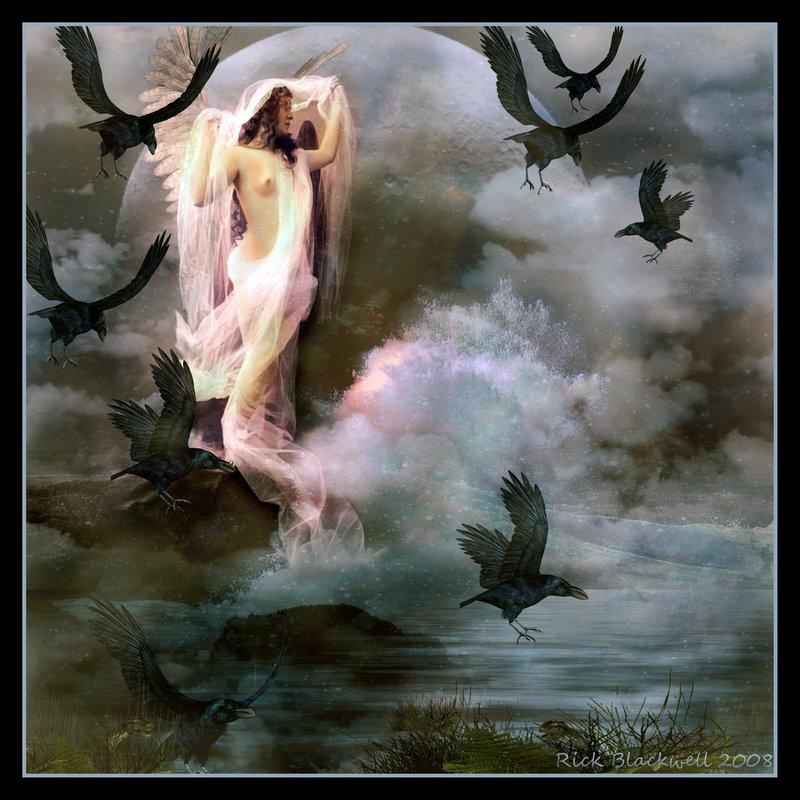 Goddess Luna Journeying To The Goddess