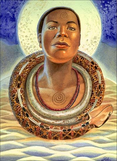 Goddess Mawu   Journeying to the Goddess