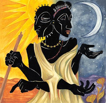 Goddess Mawu | Journeying to the Goddess