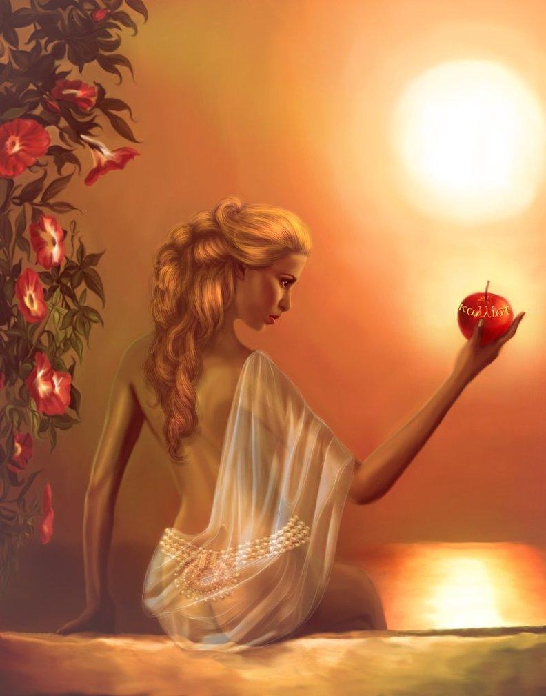 Goddess Aphrodite Journeying To The Goddess