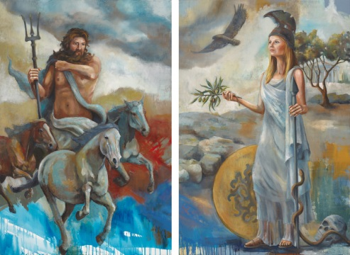 """Athena & Poseidon"" by Rachael McCampbel"