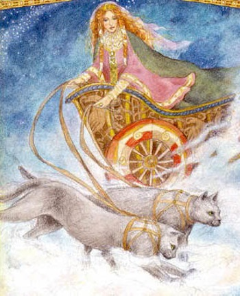 Syr Journeying To The Goddess