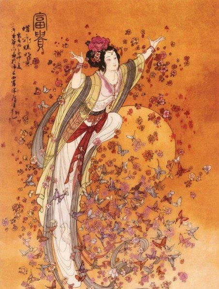 Goddess Asian 107