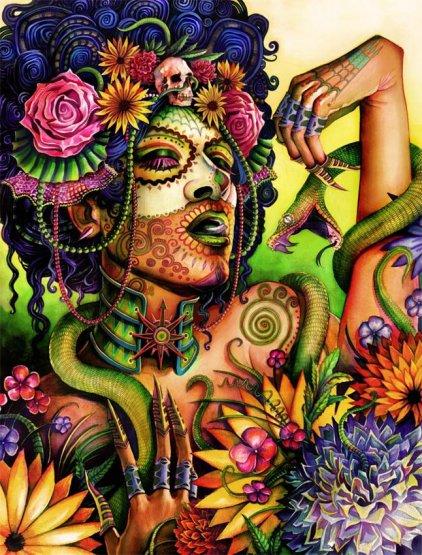 mictecacihuatl | Journeying to the Goddess