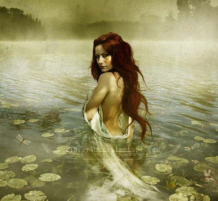 """Lady of the lake"" by *oloferla"