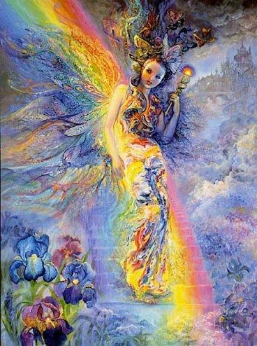 """Iris"" by Josephine Wall"