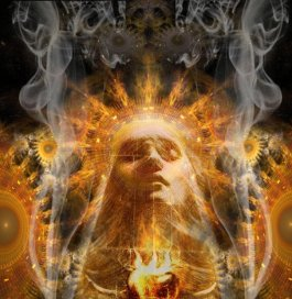 Image result for fiery rebirth of the goddess Isis  painting