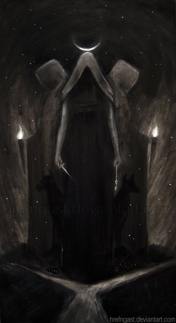 """Hecate"" by *Hrefngast"
