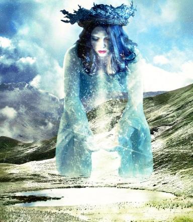 """Winter's goddess"" by *frenchfox"