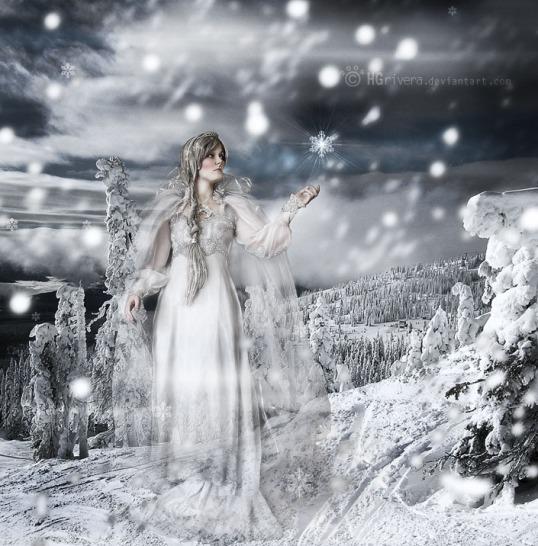 """Winter Goddess"" by ~hgrivera"