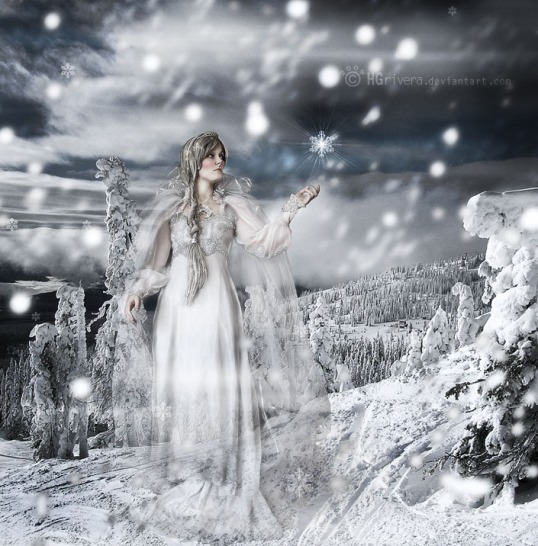 """Winter Goddess"" by ~hgrivera"