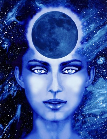"""New Moon Goddess"" by Montserrat"